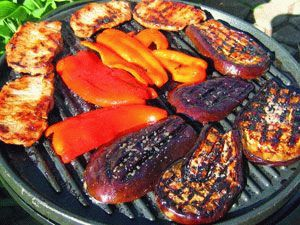 Рецепты баклажанов на мангале