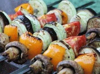 Как сделать овощи на мангале