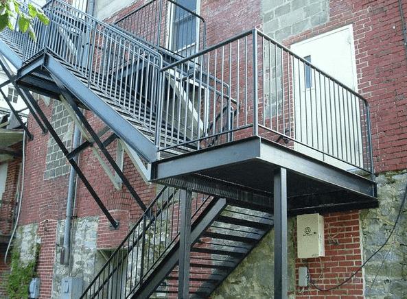 Требования СП для наружных пожарных лестниц