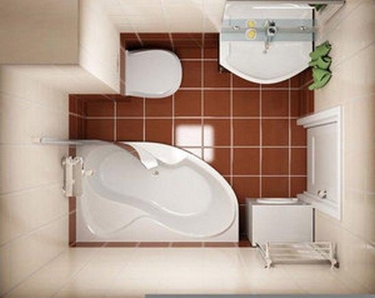 Как обустроить маленькую ванную комнату, чтобы было удобно