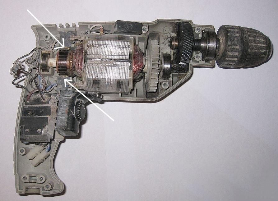 Почему искрит двигатель в дрели: выявляем причины