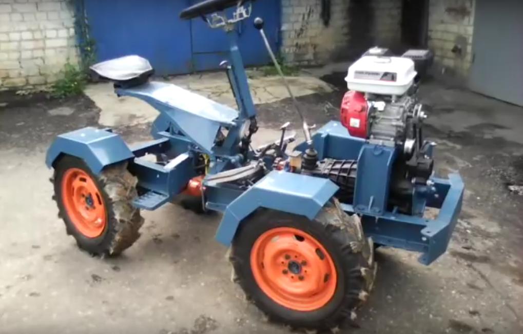 Самодельный трактор: оригинальное решение