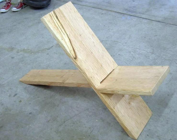 Оригинальные стулья на дачу: мастерим своими руками