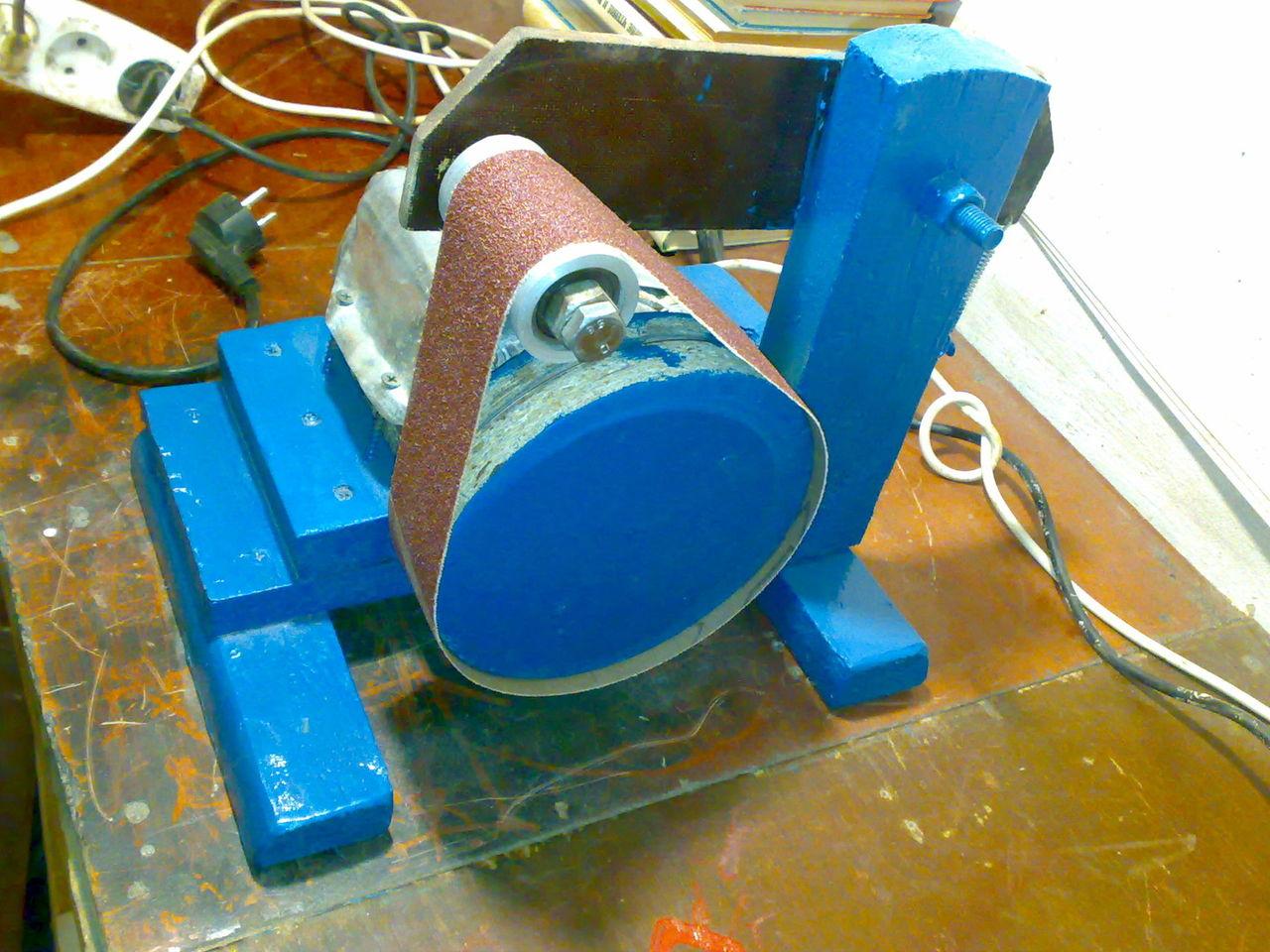 Самоделки из двигателя стиральной машины: электрический наждак своими руками