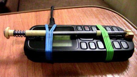 сигнализация из телефона