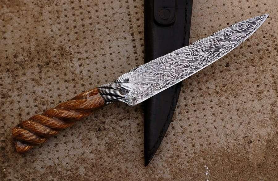 Нож из стального троса: мастерим самостоятельно