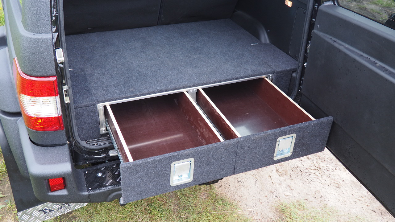 Встраиваем ящики в багажник авто: своими руками