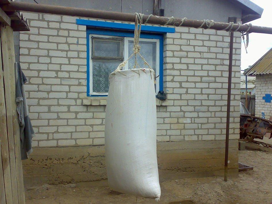 Боксерская груша своими руками: экономим 20 тысяч рублей
