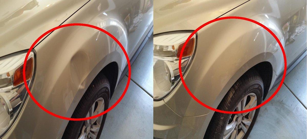 Ремонтируем вмятины и царапины на кузове автомобиля своими руками: оригинальные решения