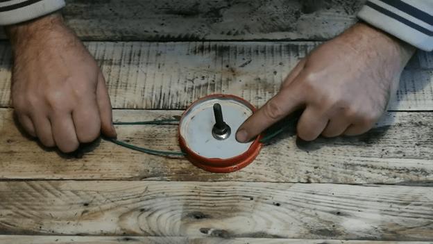 Триммер из дрели своими руками