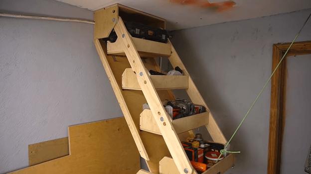 подвесные полки в гараж фото