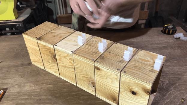 ящики в гараж из полипропиленовых труб