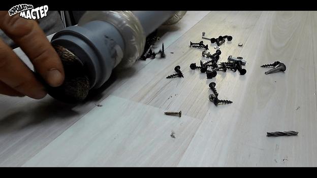 Сборщик металлической крошки и мелочи для мастерской