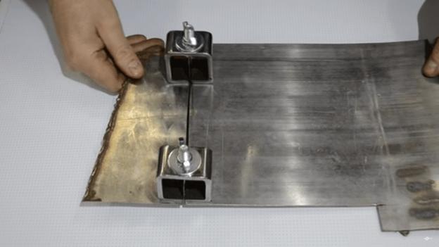 Удобный зажим для сварки своими руками: сварка двух металлических пластин