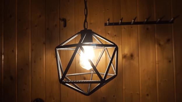 Делаем светильник в стиле ЛОФТ