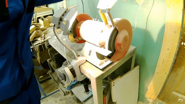 Подсветка в мастерской