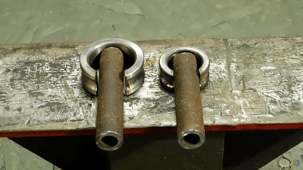 Пресс-форма для сгибания труб своими руками
