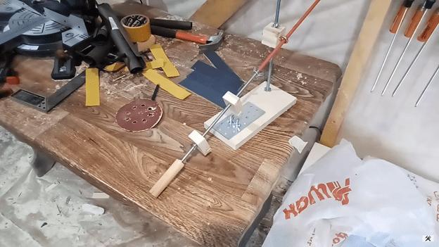 станок для заточки ножей своими руками