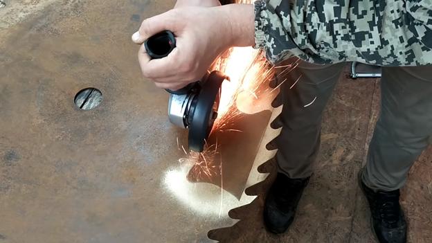 топор из диска своими руками
