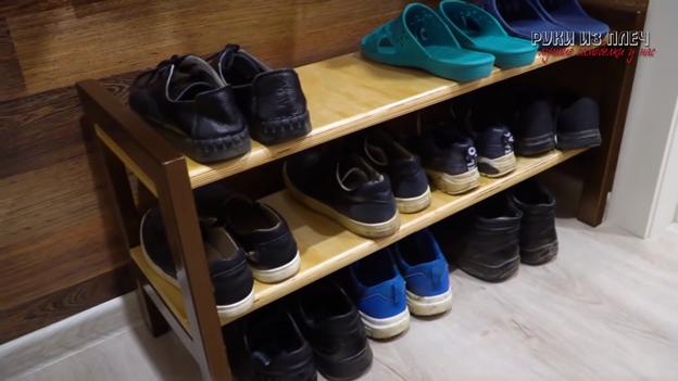 Полка для обуви : легко и просто