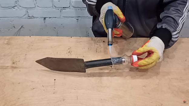 улучшаем садовый инструмент своими руками