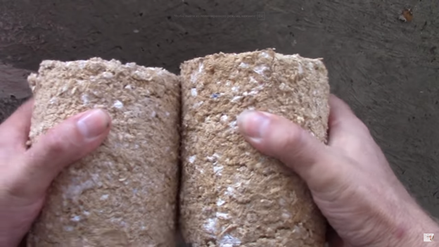 Топливные брикеты из опилок: делаем своими руками