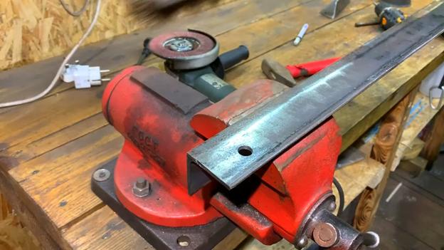 Самодельный трубогибочный станок: делаем из металлического уголка