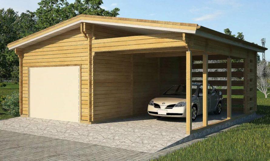 Каркасный гараж: делаем самостоятельно