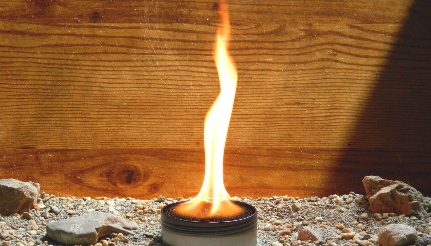свеча из жестяной банки своими руками