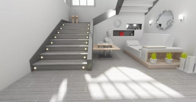 Почему именно бетонная лестница?