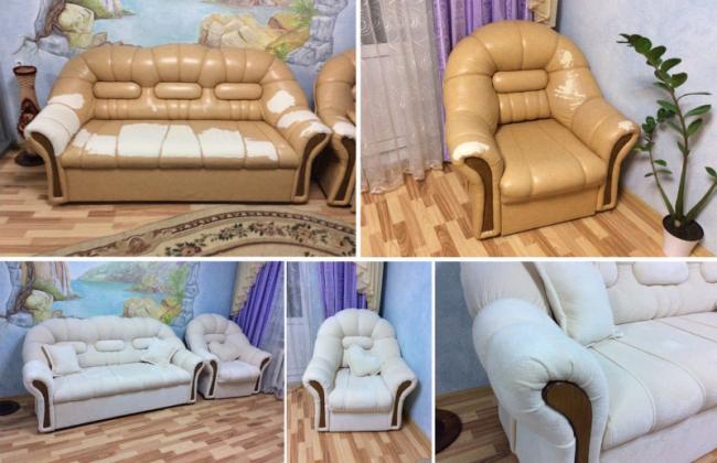 Аспекты правильной перетяжки мебели