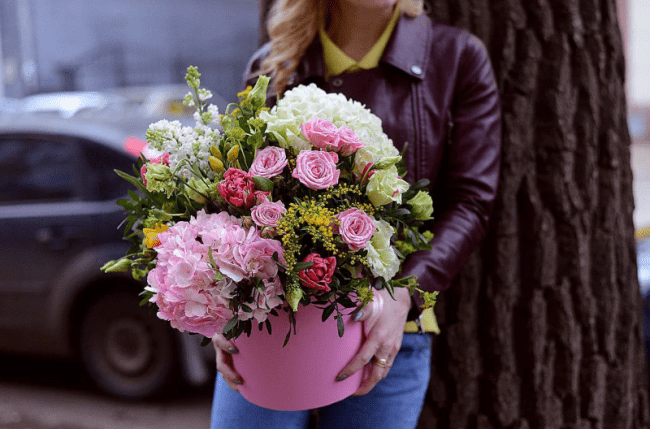 Где заказать доставку цветов