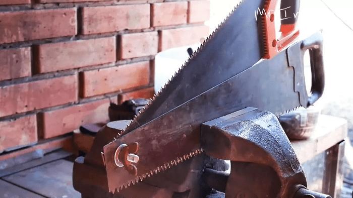 Ножницы по металлу из старых пил: делаем своими руками