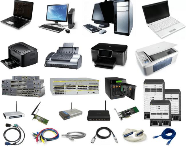 широкий спектр электроники и комплектующих
