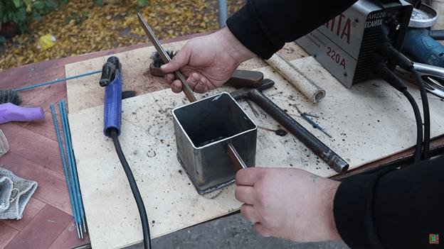 Плавильня для металла на газовой плите: делаем своими руками
