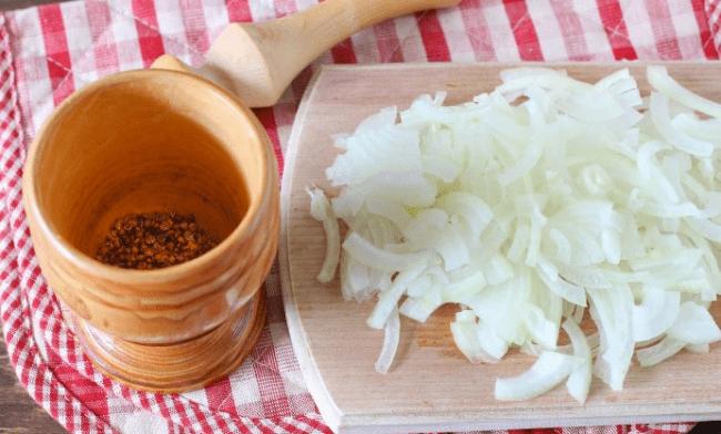 Сельдь, соленая в горчице за сутки