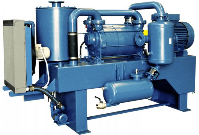 Конструкция вакуумных насосных станций рассчитана на соединение одновременно нескольких моноблоков
