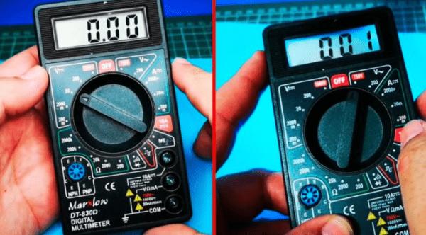 Как сделать подсветку дисплея для китайского мультиметра