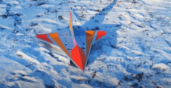 Создание универсальной авиамодели «Лебедь» из подложки под ламинат
