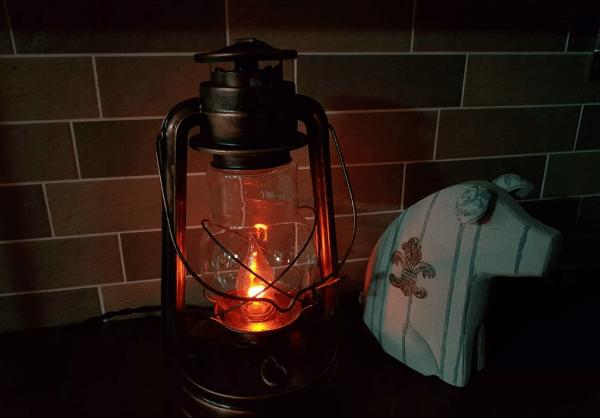 Светодиодный светильник из керосиновой лампы