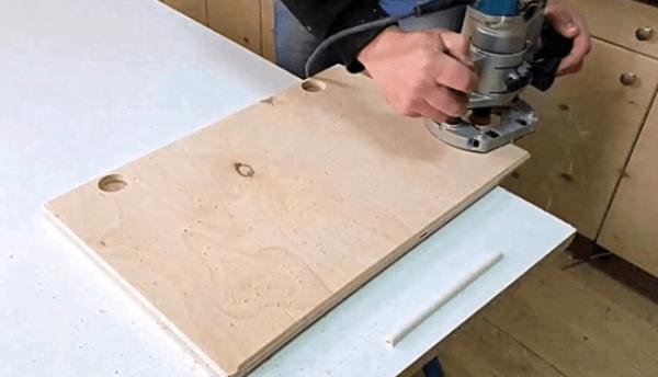 Вакуумная «струбцина» и пара идей для мастерской