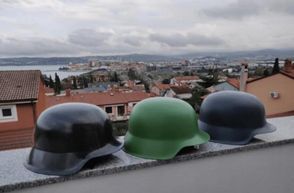 Копия военного шлема из композитного материала