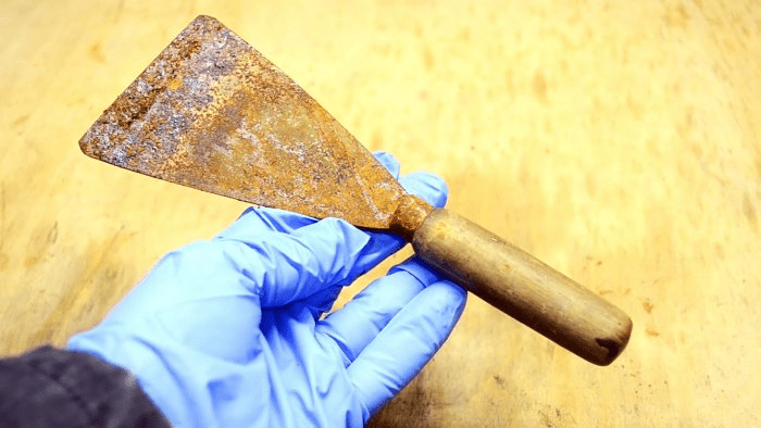 Как из старого шпателя сделать резак