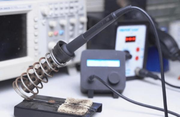 Цифровая паяльная станция за небольшие деньги