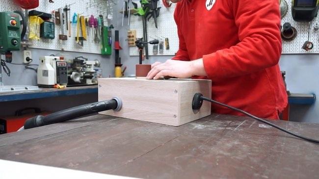 Как сделать простой барабанный шлифовальный станочек