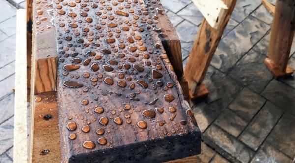 Как сделать недорогую водозащитную пропитка для дерева