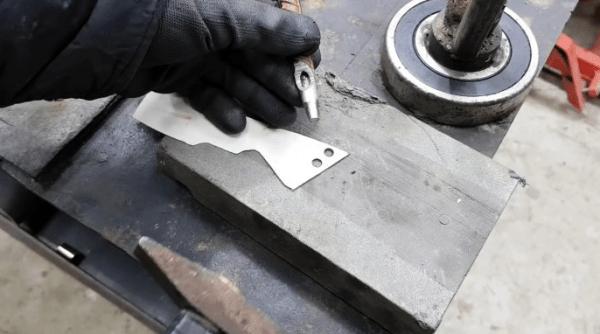 Как сделать пробойник дырокол для прокладок