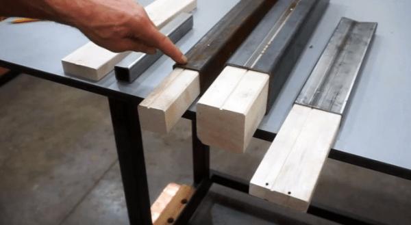 Как сделать инструмент для быстрого удаления внутреннего шва в профильной трубе