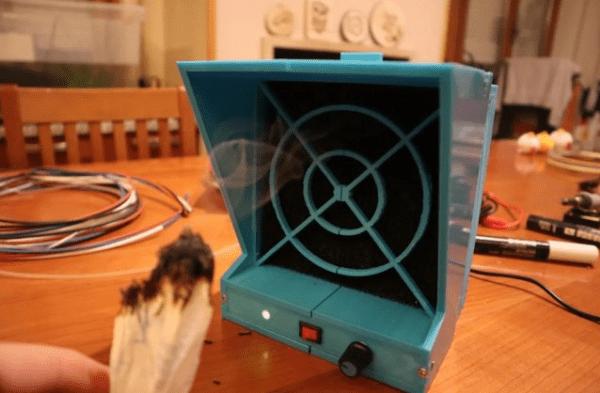 Самодельный экстрактор дыма
