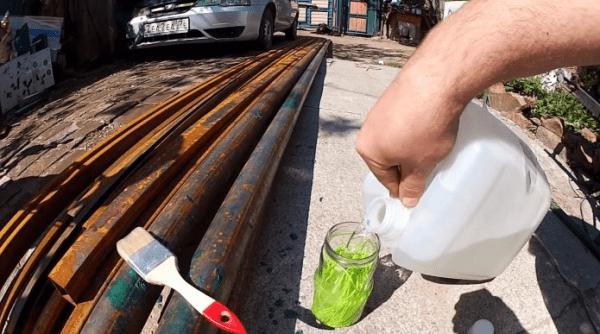 Как сделать жидкий пластик для покрытия металла